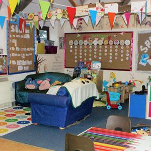 After school club at Savernake nursery