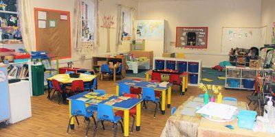 Big Acorns room at Andover Nursery