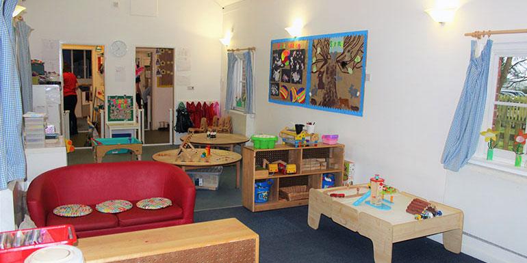 Bluebells room Andover nursery
