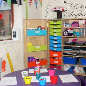 Holiday school club at the Savernake nursery