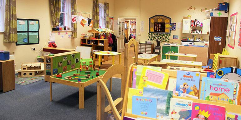 Little Acorns room at Andover nursery
