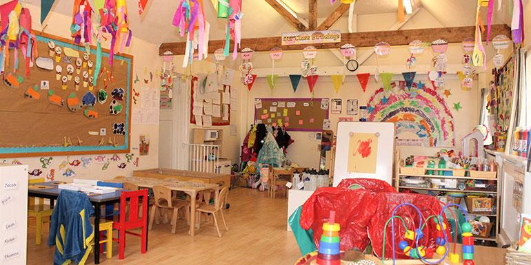 Marlborough nursery room