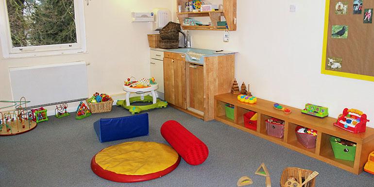 Snowdrops room Andover nursery