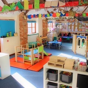 Activities and toys ready to play with in Bluebells room Savernake