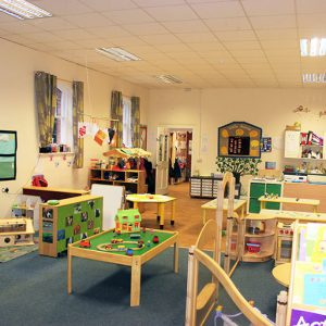 Room ready to play with toys and activities in Little Acorns room Andover