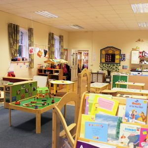 Room activities and toys ready to play with in Little Acorns room Andover