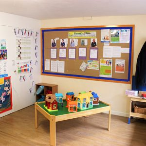 Toy houses ready to play with in Marlborough nursery